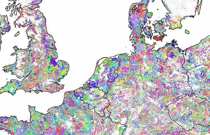 Geographical data map, Soil modelling, Groundwater modelling, Surface water modelling, Germany, UK, Denmark, The Netherlands